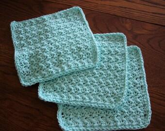 Seafoam Washcloths
