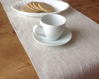 linen table runner / linen runner / rustic linen runner