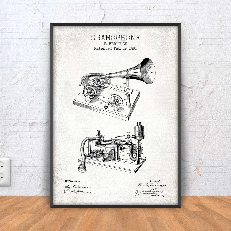 Gramophone patent print gramophone blueprint gramophone zoom malvernweather Image collections