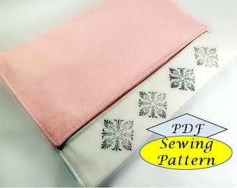 Girl Iphone IPad Sleeve Organizer cover case pdf sewing pattern, pdf instant download tutorials patterns Tutorial PDF Ebook ebooks printable