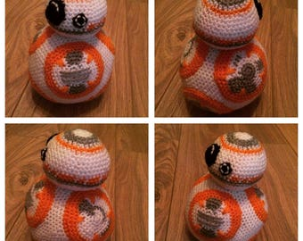BB8 Crochet Plushie