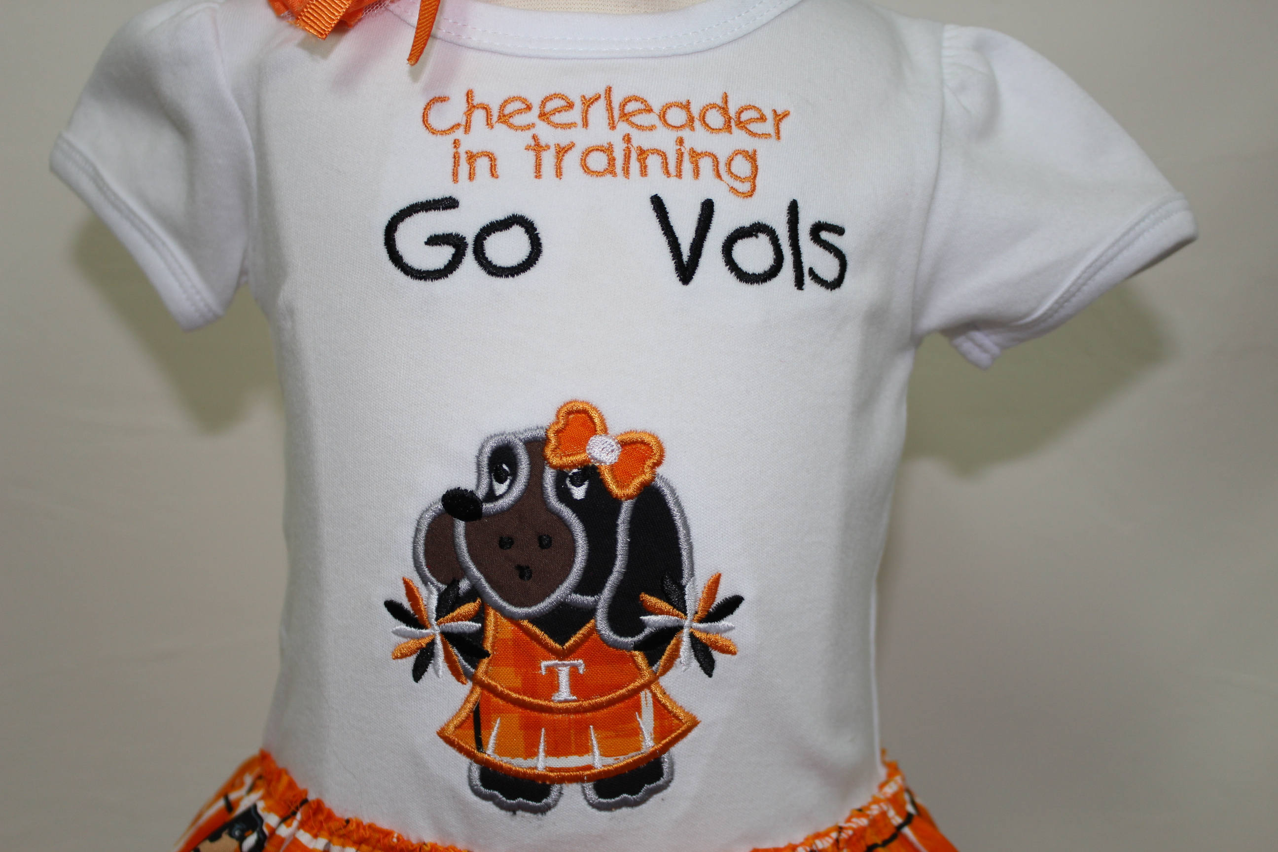 Tennessee Tennessee Volunteers football baby girl clothes