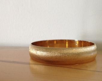 Bangle Bracelet, Gold Bangle, Gold Florentine Bangle