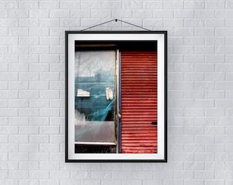 Red, White and Blue - Premium Quality – Wall Art - Giclée Print – Urban Art - Martin Sylvester - Sylvo81
