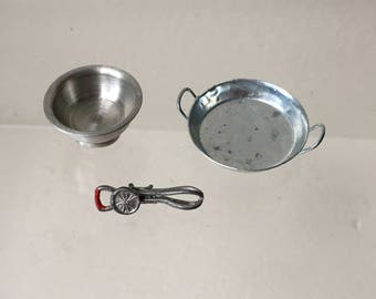 "Dollhouse Miniature Baking Ware 1"" Scale (DC)"