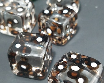 Boro Glass Dice! Handmade. *free shipping*