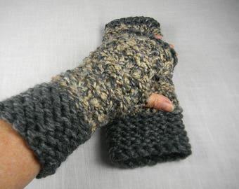 Wrist Warmer, Texting Gloves, Texting Mittens, Fingerless Gloves, Fingerless Mittens