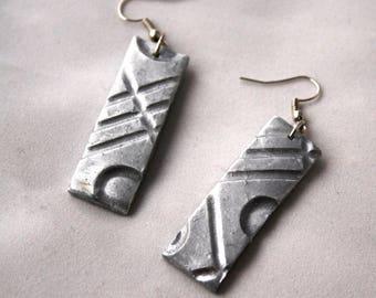 Sculpted Clay Earrings
