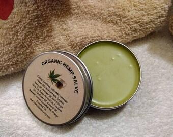Hemp Salve~ Salve~Pure Hemp Oil Salve~Botanical Salve~Natural Ingredients~Organic Salve~