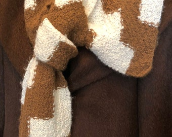 Paco-Vicuna & Alpaca Hand Knitted Scarf, Beautiful and So Soft!