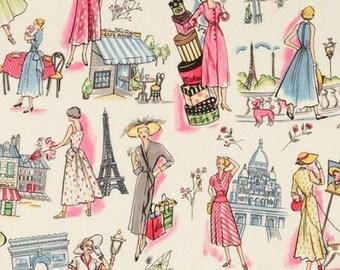 Springtime in Paris Miller patchwork fabric