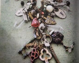 Keys to My Heart OOAK Necklace by SusanARay of OneHealingStone