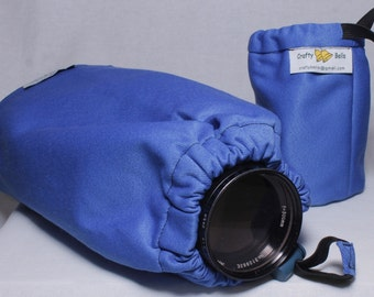 Photography Accessories, Heavy Duty Lens Cover Dust Protector, Triple layer fabric protection, Water dust resistant