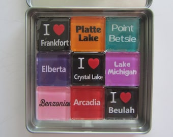 FRANKFORT, Crystal Lake, Beulah, Point Betsie, Platte River, M22, Up North Michigan, Michigan, Michigan Magnets, Northwest Michigan
