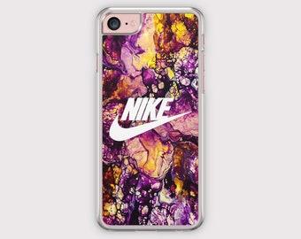 marble nike case, nike iphone case, iphone 6 case, samsung phone case, galaxy iphone case, purple marble case, iphone 5s case, iphone cover