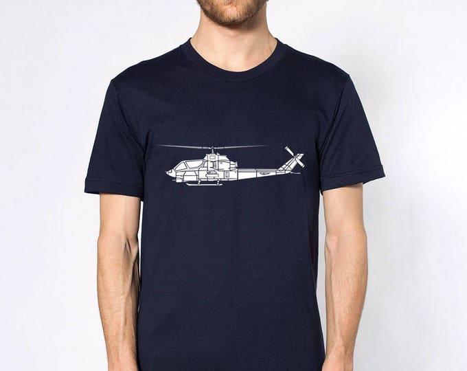 KillerBeeMoto: Bell AH-1 Cobra Attack Helicopter Short Or Long Sleeve T-Shirt