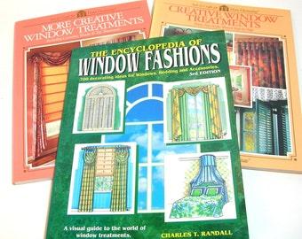Creative Window Treatments, Three How-To Books