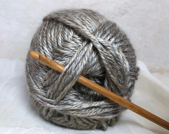 YARN SALE!  Linen Heather Worsted Yarn |  251 Yards