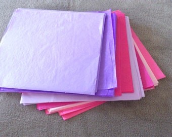 set of 30 sheets of tissue paper