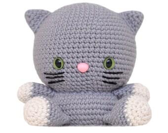 Fat Face Cat Amigurumi Pattern
