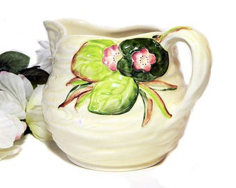 Clarice Cliff Newport Pottery Water Lily Jug Pitcher