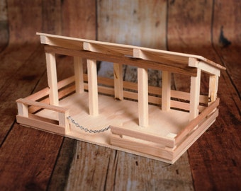 Wooden Toy Stable