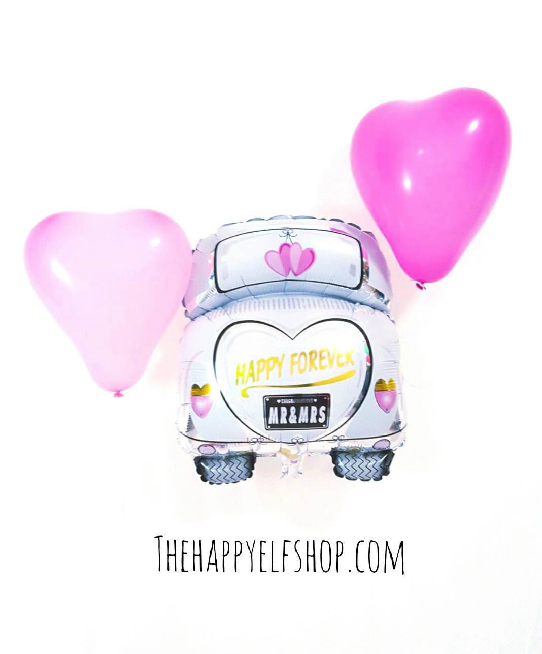 JUST MARRIED Foil Balloon. Wedding. Foil Balloon. Party Decor ...