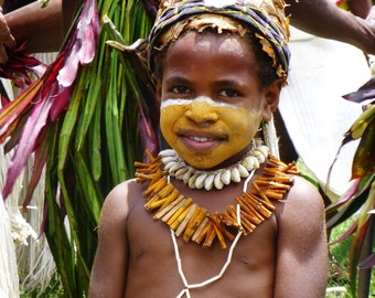 Digital Download Photography, Portraits of Papua New Guinea, Charity Donation, Tribal Pictures, Support Women, Art Lover Gift