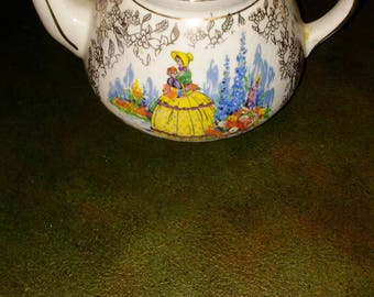Thomas Allen? antique small teapot