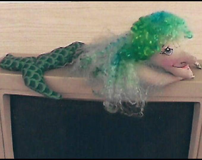KK708E – Molly Mermaid Wrist Rest - Cloth Doll Making Sewing Pattern, PDF Download