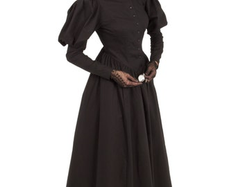 41008 Victorian Mourning Dress
