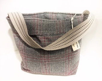 Boho wool bag