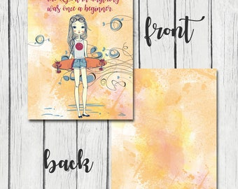 Erin Condren Life Planner Cover INSTANT DOWNLOAD digital file 7 x 9 inches front and back