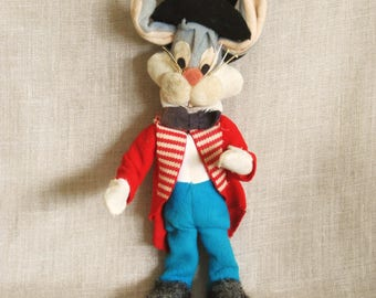 Vintage Bugs Bunny Doll, Dream Dolls, Rabbit, Bunny, Cloth Dolls, Vintage Toys, Plushie, Soft, Collectibles, Japan, Rare, Animals