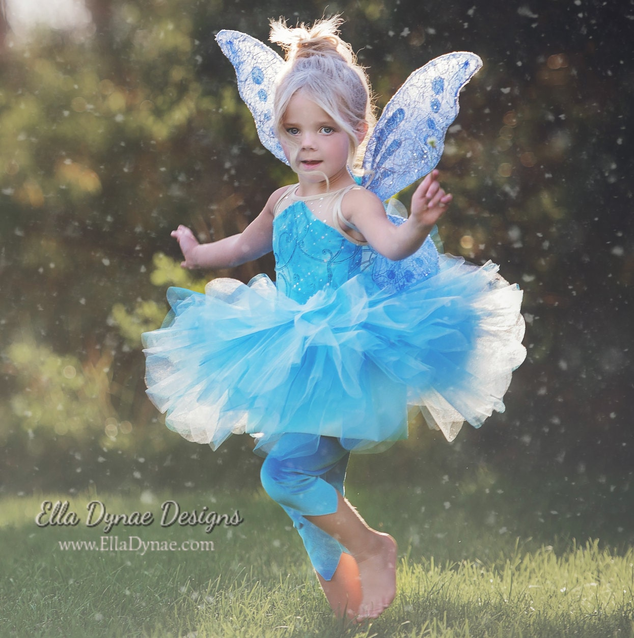 ?Ampliar  sc 1 st  Etsy : blue fairy costume child  - Germanpascual.Com