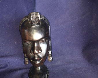 Ebony Wood African Carving