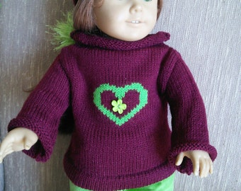 three piece outfit for 18 inch dolls like American Girl Doll