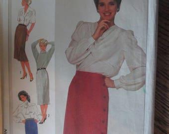 Simplicty Skirt Pattern Four Views Uncut