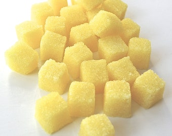 Lemon Flavored Sugar Cubes, Tea Party, Champagne Toast, Wedding Shower, Baby Shower Tea, DIY Favors, Coffee, High Tea, Mad Hatter Tea Party