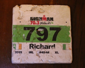 Race number coaster
