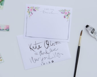 "Custom Stationery ""Brooke"""