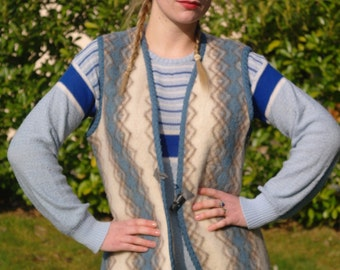 Vintage 60 sleeveless vest