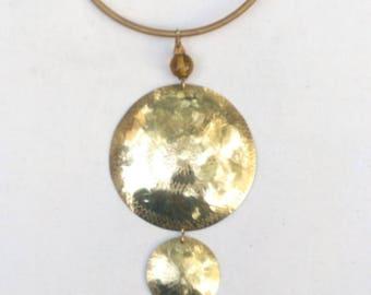 Brass choker necklace, Kenya brass necklace, handmade jewelry, gift Jewelry, ladies jewelry, girls jewelry