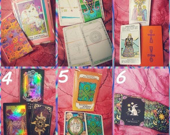 You pick the Deck; Tarot Reading
