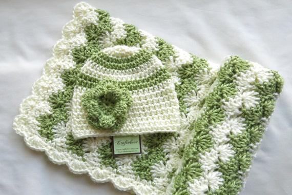Häkeln baby Decke Baby Mädchen Dusche Geschenk-Set