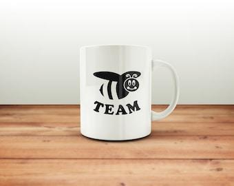 BEE Team mug