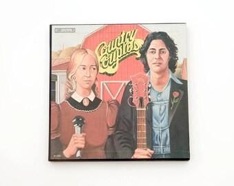 Country Couples Vinyl Record Box Set Vintage Retro