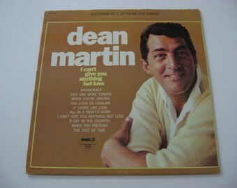 Dean Martin - I Can't Give You Anything But Love - Circa 1967