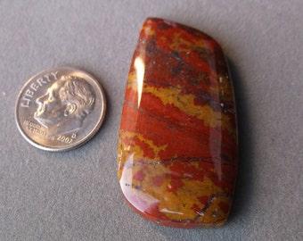 Stony Creek Poppy Freeform Cabochon from Stony Creek, Ca.