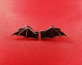 Bat Wing Lapel Pins